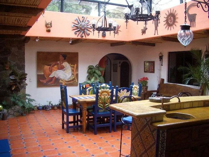 35 best images about casas on pinterest architecture for Case in stile ranch hacienda