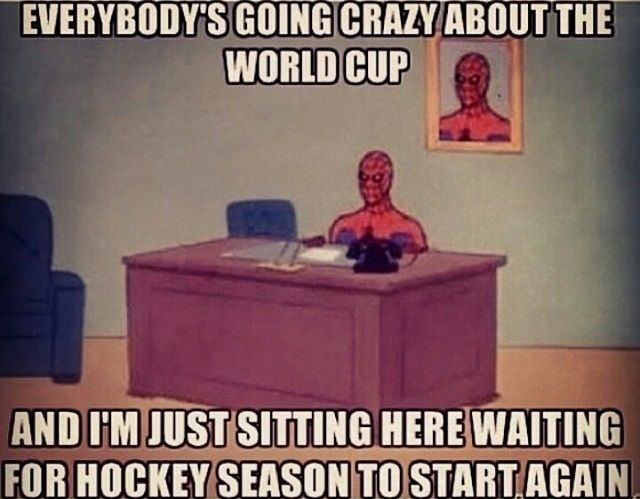 Just waiting for the season to start