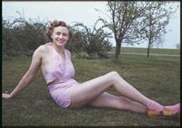 Charles W Cushman photo collection  Bathing Girl