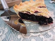 Nothing tastes more like summer than a fresh baked Wild Black Raspberry Pie or Blackberry Pie!    You can find either of these berries growing wild along field fences in Iowa - like we did. They are fun to pick and a delight to eat. Enjoy your harvest with this simple to make pie recipe. Recipe