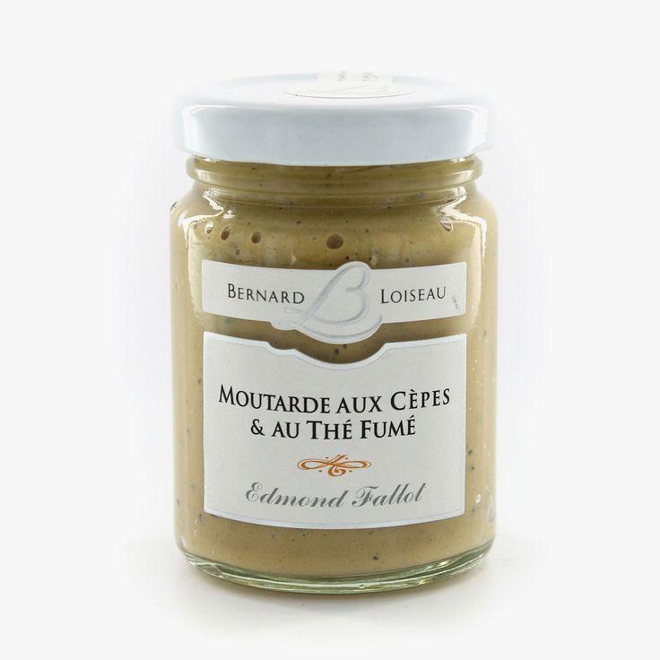 Moutarde cèpes et thé fumé - Fallot