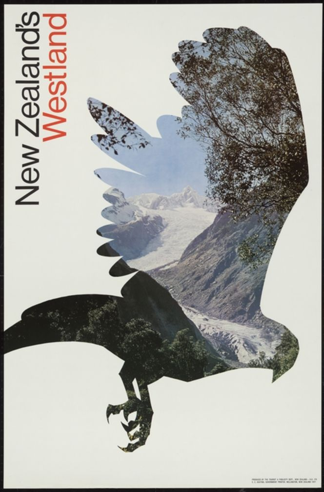 New Zealand. Tourist and Publicity Department :New Zealand's Westland. Produced by the Tourist & Publicity Dept., New Zealand - H.O. 175. E C Keating, Government Printer, Wellington, New Zealand, 1977.
