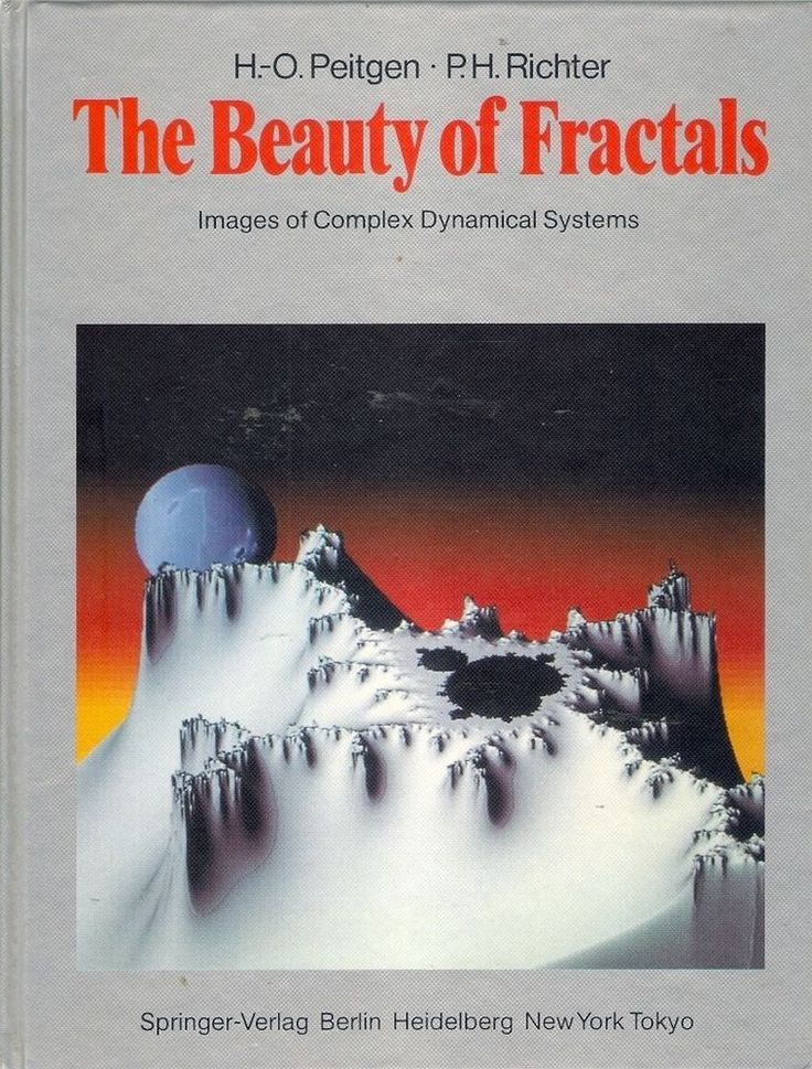 BEAUTY of FRACTALS: COMPLEX DYNAMICAL SYSTEMS. A total of 184 illustrations - including 88 full-colour pictures of Julia sets. However, the invited contributions which round off the book lend the text the required formality. Benoit Mandelbrot gives a very personal account, in his idiosyncratic self-centred style, of his discovery of the fractals named after him and Adrien Douady explains the solved and unsolved problems relating to this amusingly complex set.