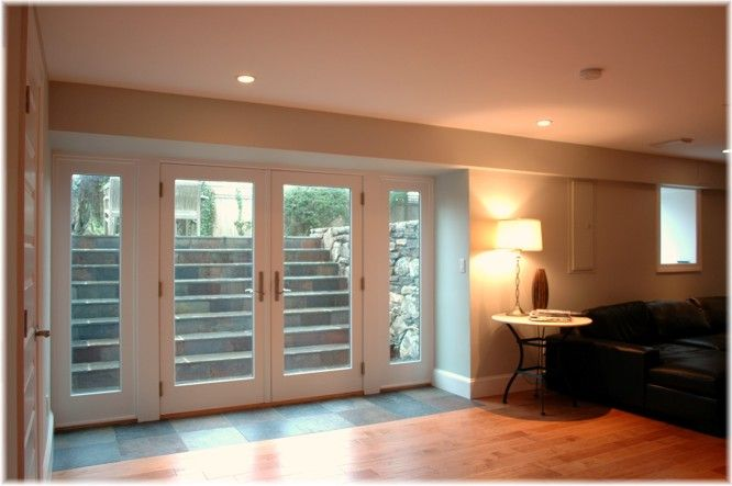 Provide access to outdoors from your basement, bringing natural daylight