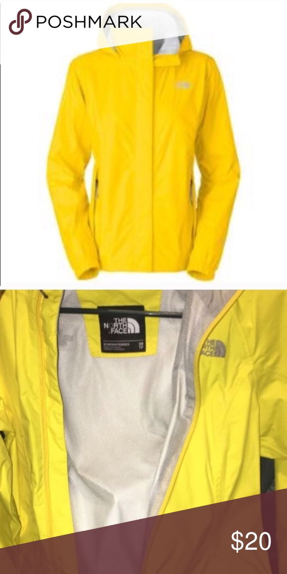 Women's north face rain jacket Says size XS but fits more like a small medium The North Face Jackets & Coats Trench Coats