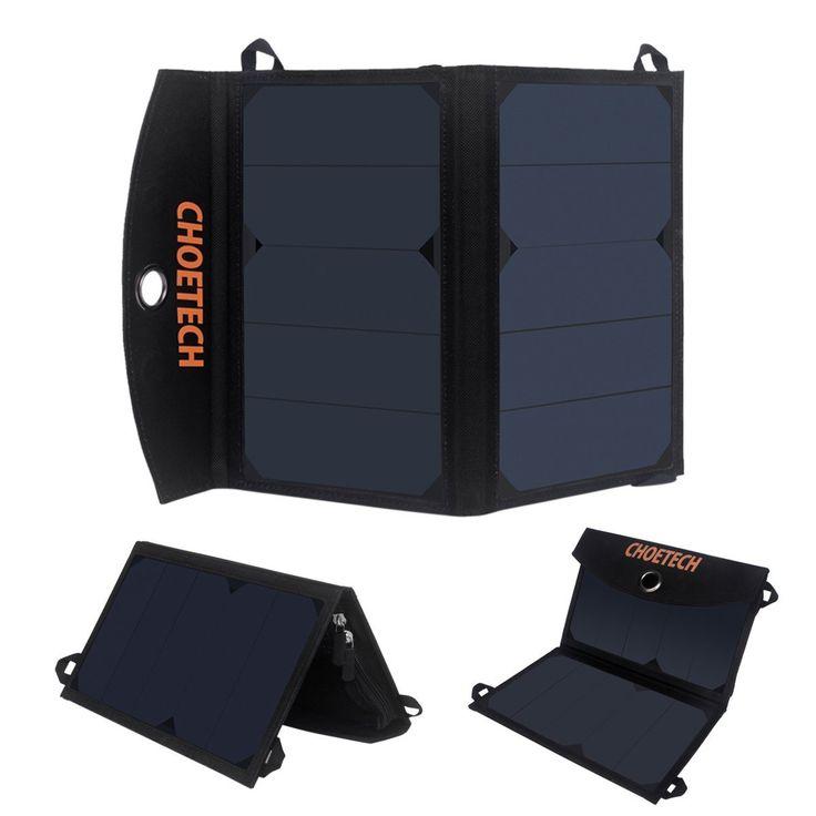 Cargador solar portátil CHOETECH