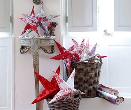 Dein persönlicher Stern - Geschenke basteln zu Weihnachten 15 - [LIVING AT HOME]
