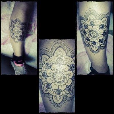 çizimi yeni bitirdim  #mandala #tattoo