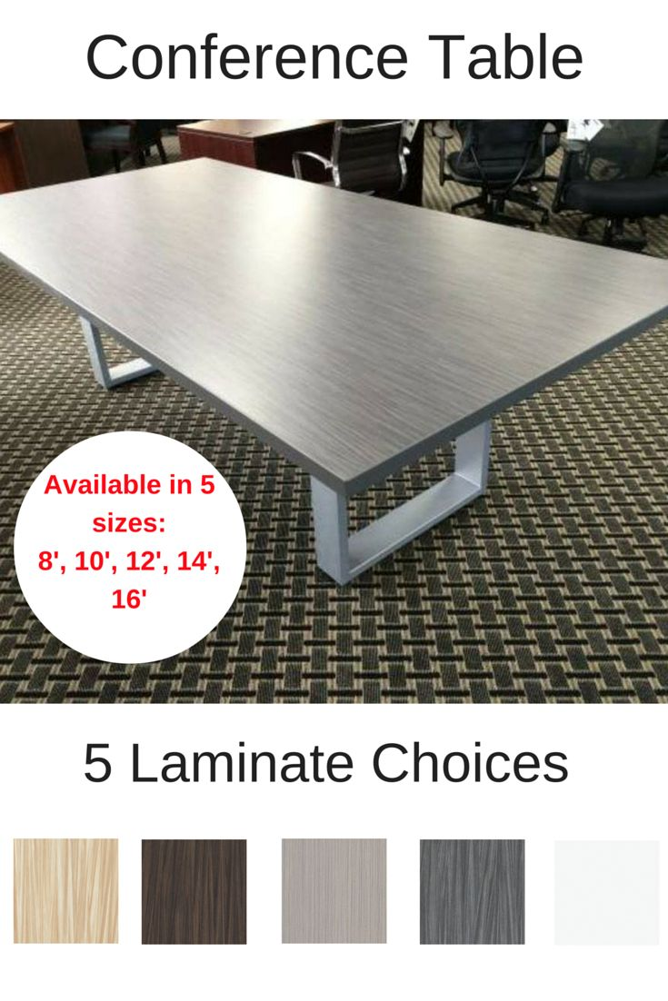 Conference Table Option 10 Yr Warranty Available In 8 10 12 14 16 8 Ft 10 Ft 12 Ft With Images Conference Table Custom Conference Table Conference Table For Sale