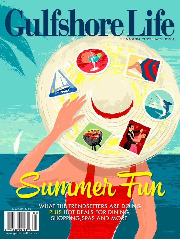 Gulfshore Life Magazine cover on Behance