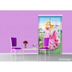 Csipkerózsika gyerek függöny #függöny #lakástextil #lakberendezés #gyerekszoba #csipkerózsika
