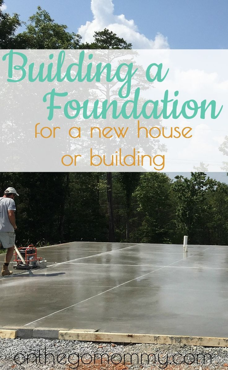 General steps for building a foundation for a new home or addition, or new building. This is a cement slab foundation. You will have to find out what codes are required for different depths of certain steps in this process. But here are general steps in order of how we completed our concrete slab foundation for our home addition!