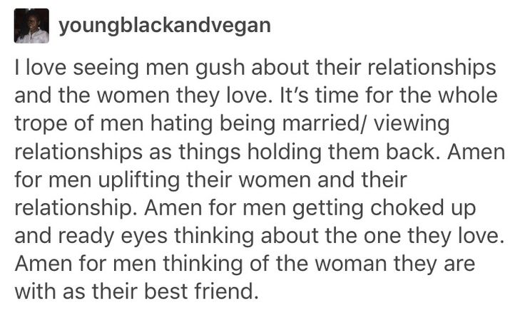 YES it's the cutest thing seeing people gushing about people they love and I wish it were more socially acceptable for men to do it!