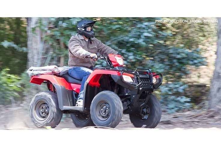New 2017 Honda FOURTRAX FOREMAN RUBICON 4X4 ATVs For Sale in Ohio. 2017 Honda FOURTRAX FOREMAN RUBICON 4X4, It doesn't matter whether we're talking about architecture, transportation, clothing, food or music: the real greats stand the test of time. And when you're talking about all-terrain vehicles, that test means two things: how many hours a day you want to ride, and how long your ATV lasts. The Honda FourTrax Foreman Rubicon knocks it out of the park on both counts. It's a premium…
