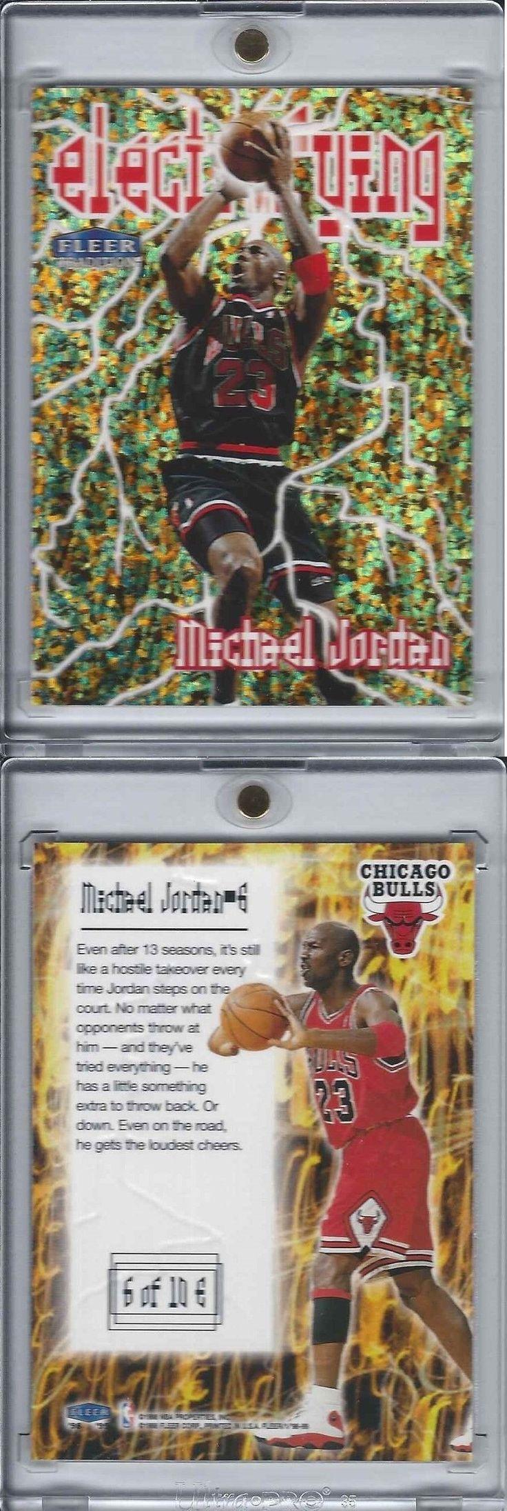 Basketball Cards 214: 1998-99 Fleer Michael Jordan Electrifying Embossed 90 S Insert Bulls Underrated! -> BUY IT NOW ONLY: $299.95 on eBay!