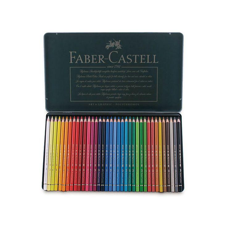 Faber-Castell Polychromos Pencil Sets - JerrysArtarama.com