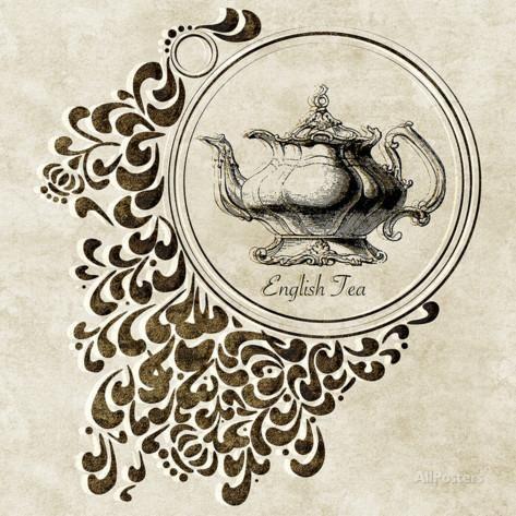 イギリス紅茶 アートプリント