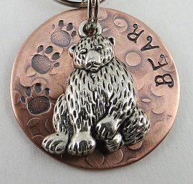 Dog ID tag, Dog tag, Pet ID tag, Pet tag, Dogs name tag, Dog tags for dogs, Copper dog tag, Personalized pet tag, Dog gift, Custom pet tag by TAZZPETTAGS on Etsy
