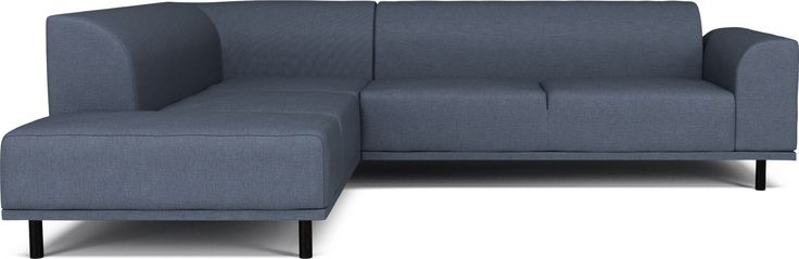 Hannah 6 seater cornersofa w. Open End - right