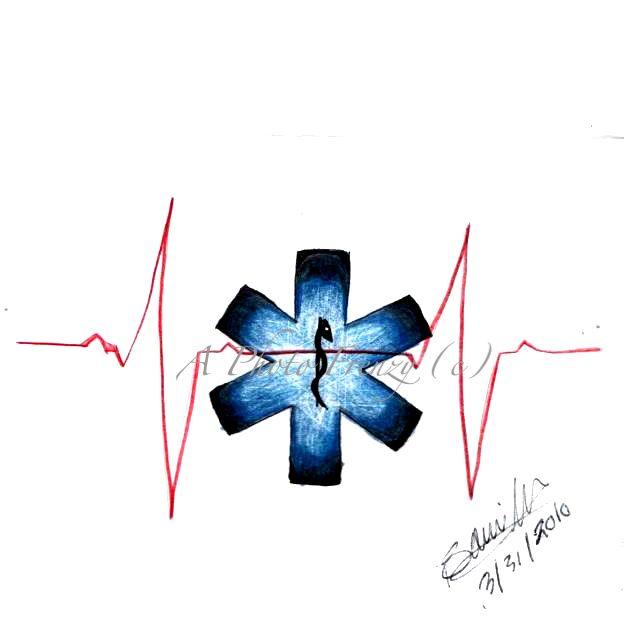45 besten Paramedic Star Tattoo Stencil Bilder auf Pinterest ... | {Sanitäter symbol 55}
