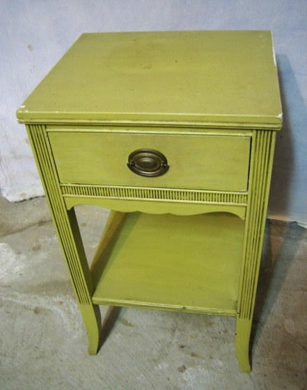 Antique Painted Chic Shabby Duncan Phyfe Mahogany Nightstand Bed Cabinet  Table. $99.95, Via Etsy