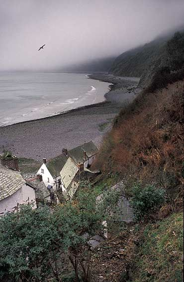 Clovelly, Devon, England.