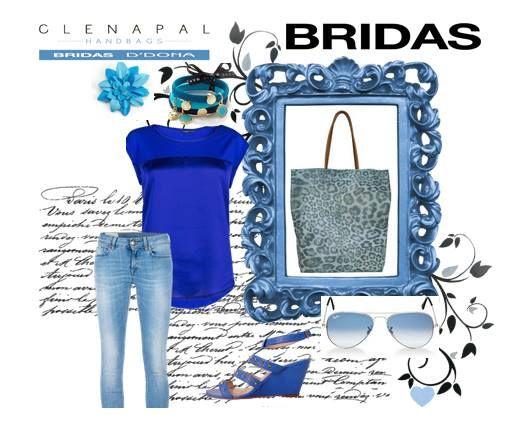 ¡¡¡chicas este verano azul klein!!!!! #bridas #clenapal #style #bags
