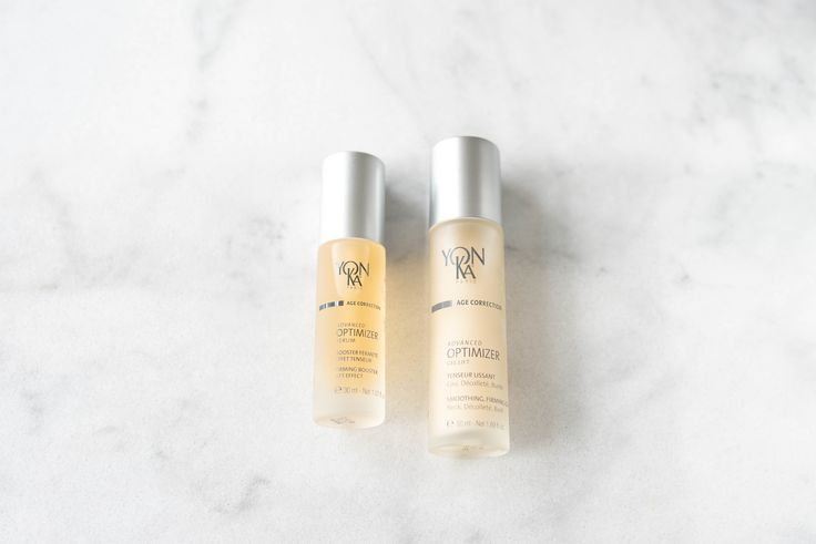Gilla's Spa recommends YonKa Age Correction Advanced Optimizer Serum and Advanced Optimizer Get Lift Gel for reshaping the facial contours, to keep skin firm and lifted. An impressive treatment for pre and post menopausal needs.