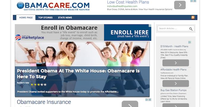 ObamaCare Sign Up