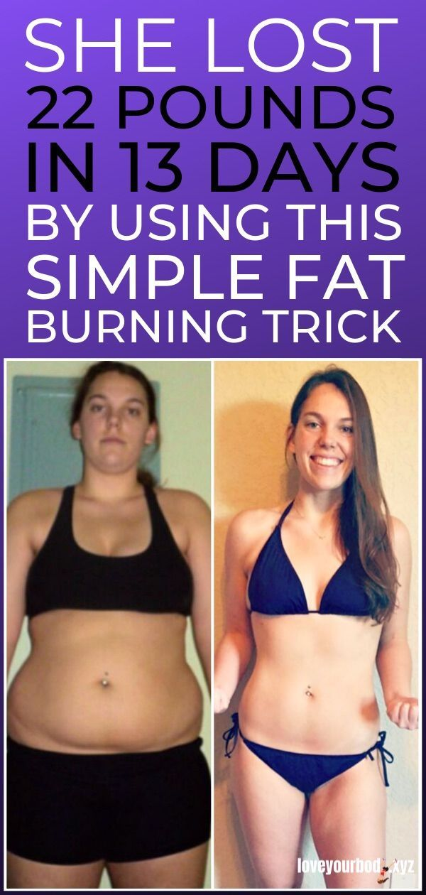 Simple Fat Burning Trick That Helped a 40 Year Mother Lose 22 Pounds in 13 Days Without Starving or Exercising