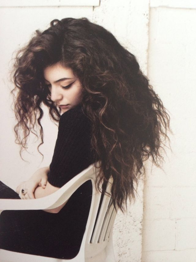 #Lorde #Hair #Brunette