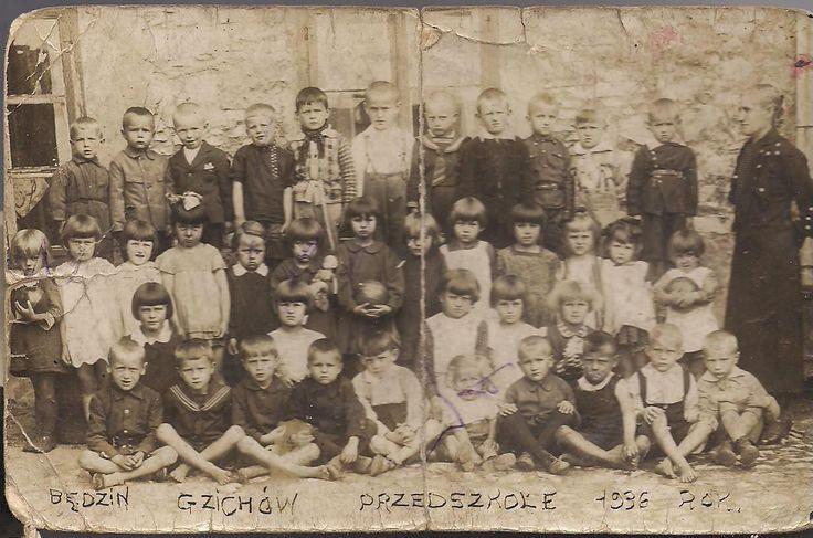 przedszkole w Będzinie rok 1936