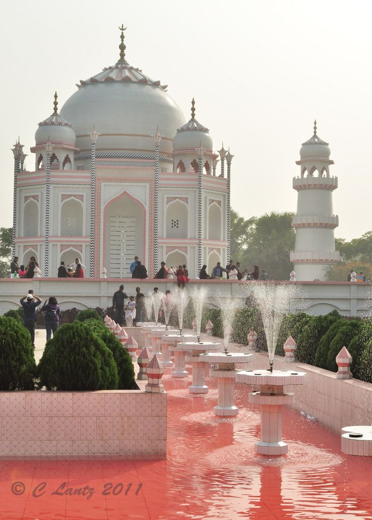 Taj Mahal Bangladesh,is a copy of the original Taj Mahal  in Sonargaon