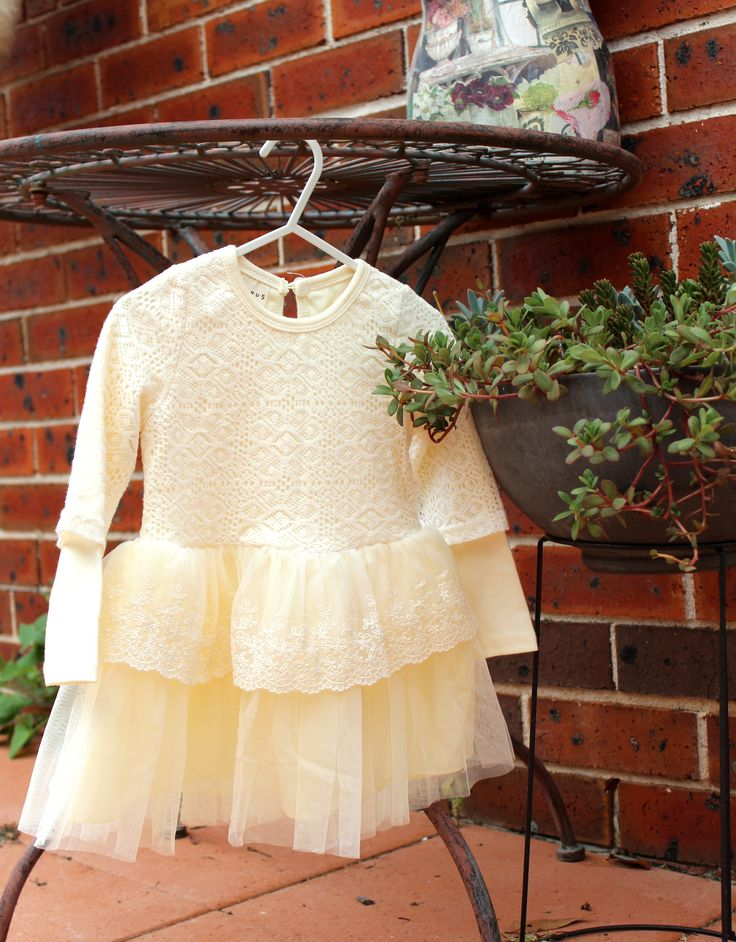 Lovely double layered lace dress