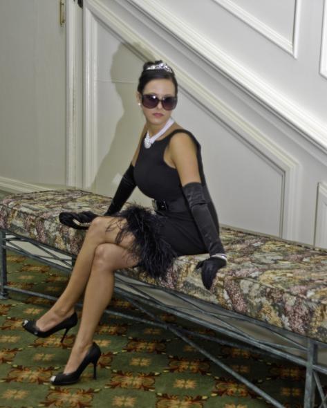 Audrey Hepburn look alike