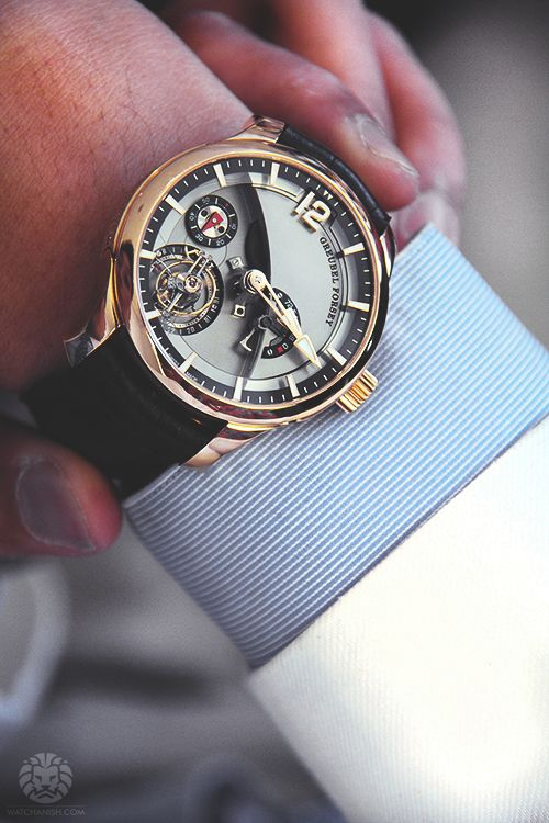 """watchanish: """" Behind the scenes with Greubel Forsey. More of our footage at WatchAnish.com. """""""