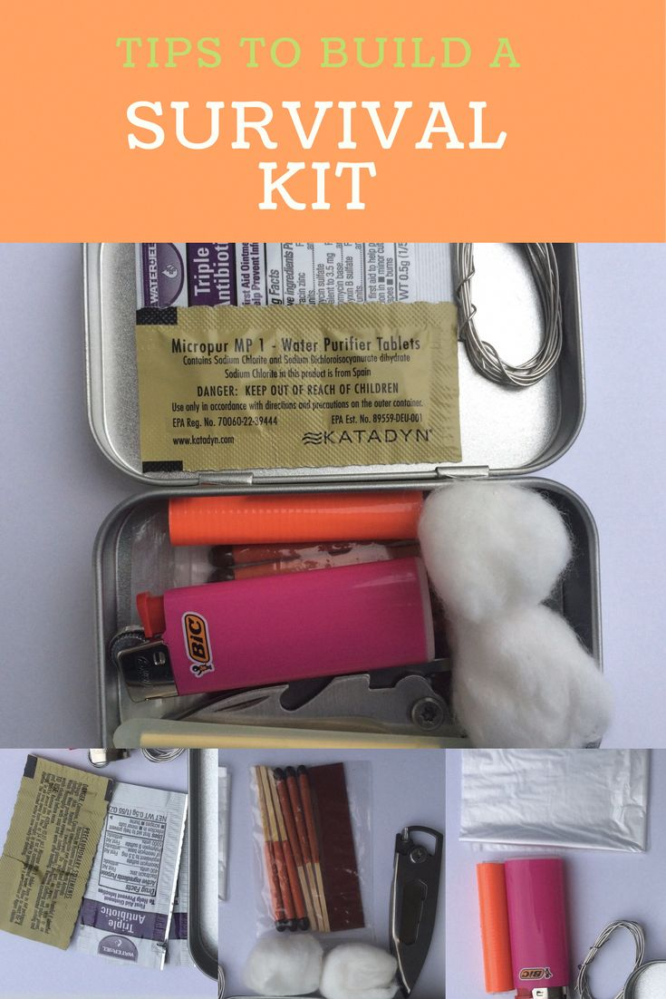 Survival Kit | Posted By: SurvivalofThePrep… #survivalhacks #outdoorsurvivalki…