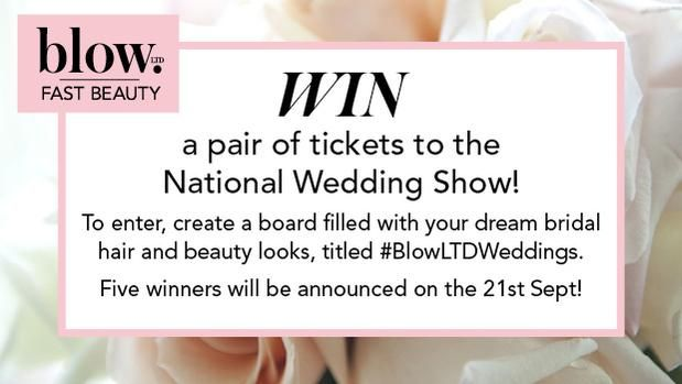 Create a Pinterest board with your dream hair and makeup looks for a chance to WIN tickets to @nationalwedding! #TNWS