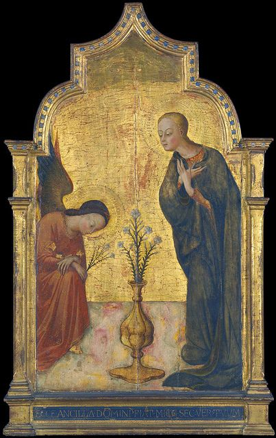 The Annunciation by Sassrtta,    petrus.agricola, via Flickr