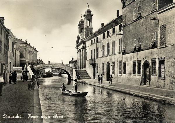 Comacchio, Ponte degli Sbirri
