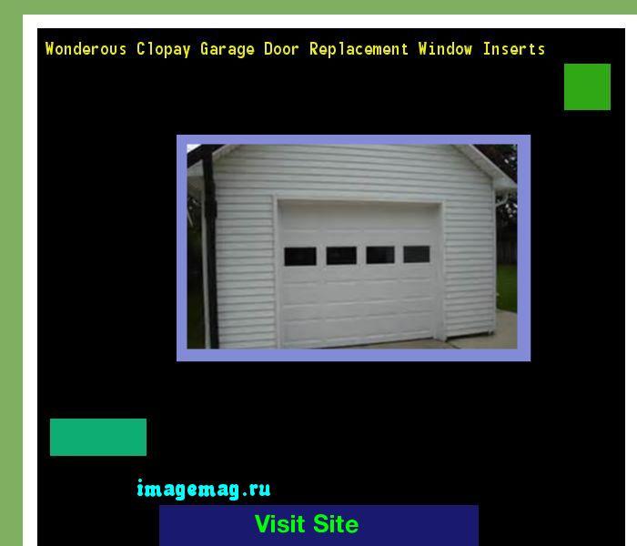 The 25 Best Ideas About Garage Door Window Inserts On