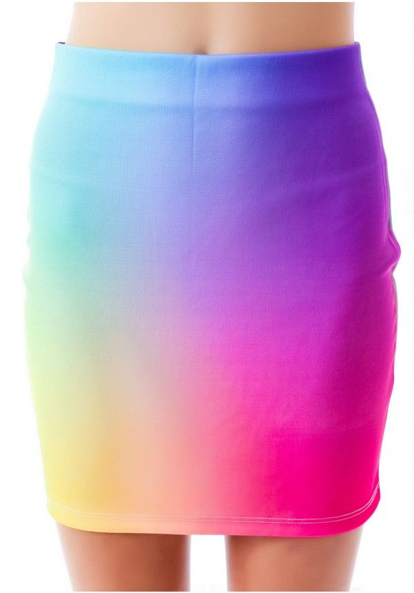 O Mighty Unicorn Puke Skirt