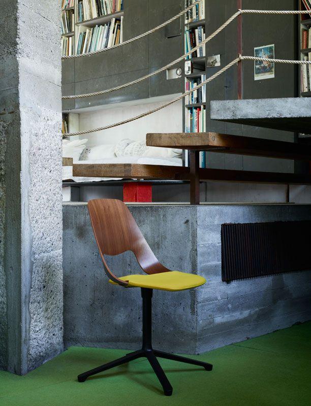 "Brand new ""Jill"" chair now at a Vitra dealer near you!: Decor Design, Chair Stool Modern, Vitra Jill 21, Buy Vitra, Brand, Design Architecture, Office Chairs, Jill Chair"