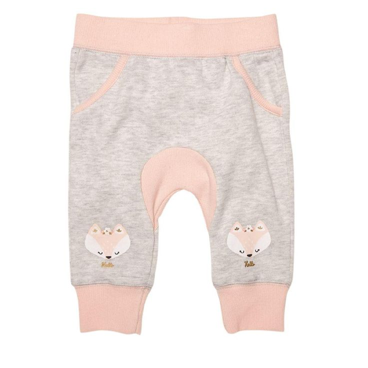 Hippo + Friends Baby Girl Gusset Print Trackpants size 0