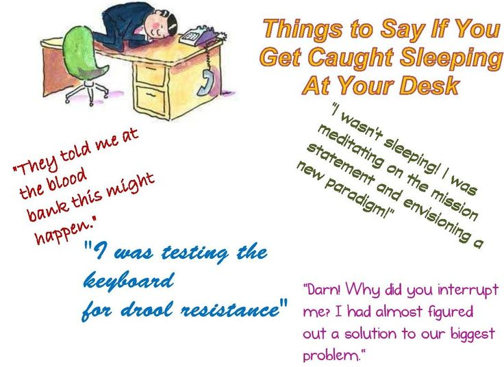 Are you sleeping at your desk? https://www.facebook/lawatwork?fref=ts