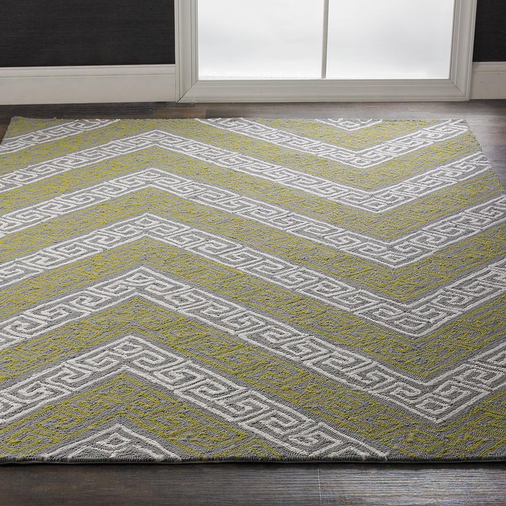Greek Key Chevron Indoor Outdoor Rug This Chevron Stripe Features A  Whimsical Greek Key Pattern For