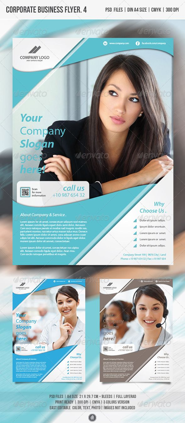 Corporate Business Flyer Vol.4