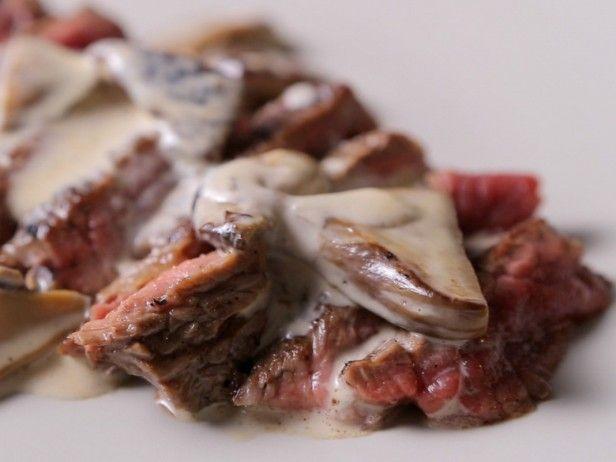 Grilled Steak with Porcini Mushroom Sauce | Brian Boitano, Porcini ...
