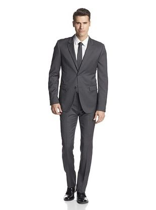 -35,800% OFF Calvin Klein Collection Men's Bowery Two Button Suit (Squirrel Grey)