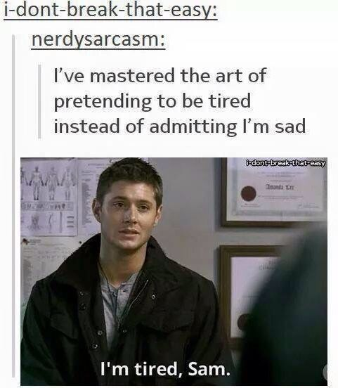 #DeanWinchester #WeHaveAGIFForThat                                                                                                                                                      More